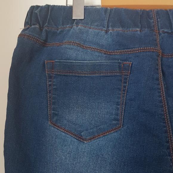 Stretch Skinny Jeans by Papaya Denim Size 18